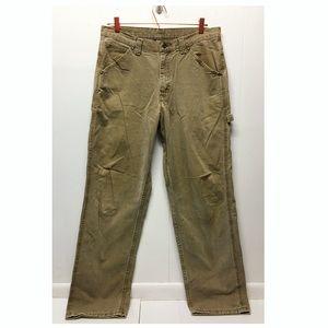 Lee's | Tan Carpenter Pants 33 x 34 Worker Pants